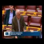 Ολομέλεια Βουλής – Συζήτηση ερώτησης για την Ορχήστρα των Χρωμάτων