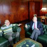Συνάντηση με τον υπουργό Δημόσιας Τάξης & Προστασίας του Πολίτη