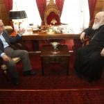 Συνάντηση με τον Αρχιεπίσκοπο Αθηνών και Πάσης Ελλάδος