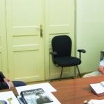 Ο περιβαλλοντολόγος Μ. Πετράκης με τον Νικήτα για την Αθήνα