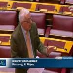 Ολομέλεια Βουλής – Συζήτηση ερώτησης για προγραμματική Υπ. Υγείας & Δήμου Αθηναίων
